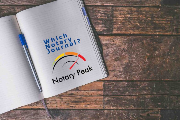 3 Top Notary Public Journal Picks for Loan Signing Agents